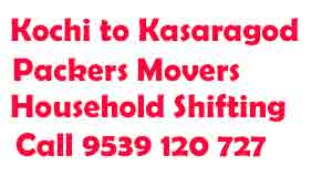 Ernakulam-Kasaragod moving company