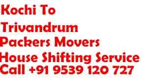 Ernakulam to thiruvananthapuram Movers