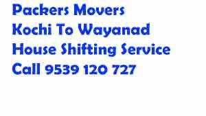 ernakulam to wayanad movers