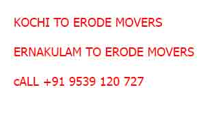 ernakulam to erode moving company