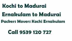 Ernakulam to Madurai Movers