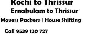 Ernakulam to Thrissur Movers