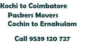 Ernakulam Coimbatore Movers