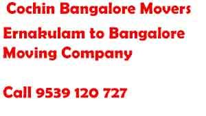 Ernakulam to Bangalore Movers