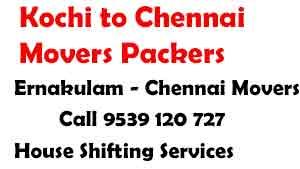 Ernakulam to chennai movers