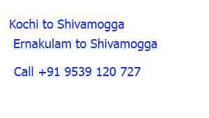 Packers and Movers Kochi to Shivamogga