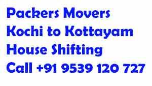 kochi to kottayam moving company