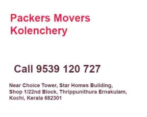 Kolenchery Packers Movers