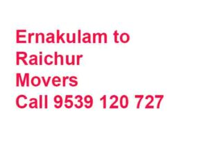 ernakulam to Raichur moving service