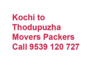 Thodupuzha movers