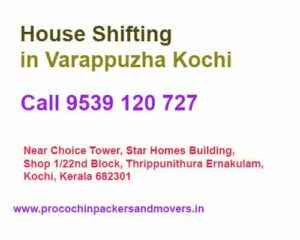 packers and movers in Varappuzha