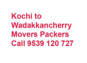 Wadakkancherry movers