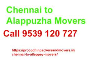 chennai to alleppey movers