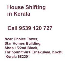 house shifting service in kerala