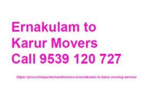 ernakulam to karur moving company