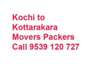 ernakulam to kottarakkara movers