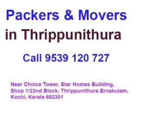 best packers and movers in Thrippunithura
