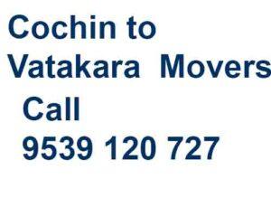 Cochin to Vatakara Movers and Packers
